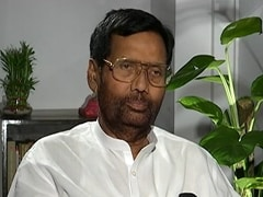 Water Sample From Ram Vilas Paswan's Residence Fails Quality Test