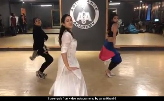 Sara Ali Khan Is A Sweetheart In BTS Video Of Her 'Pehla Gaana' Ever