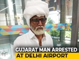 Video : Gujarat Man Impersonates Senior Citizen With Fake Beard At Delhi Airport