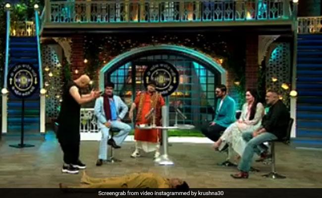 The Kapil Sharma Show: कांचा चीना बने कृष्णा ने चंकी पांडे का उड़ा डाला मजाक तो हैरान रह गए सभी- देखें Video