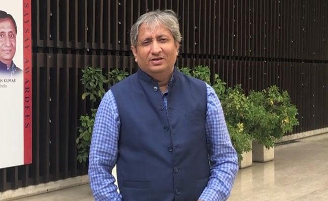 रैमन मैगसेसे पुरस्कार से सम्मानित रवीश कुमार ने NDTV के दर्शकों से कहा, शुक्रिया दिल से...