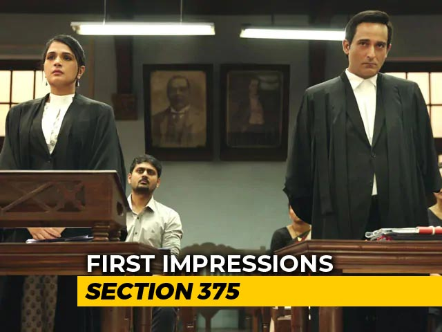 First Impressions Of Section 375