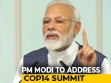 Video : PM Modi To Address COP14 Environment Meet Near Delhi