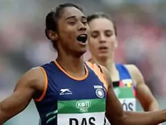 Hima Das Out Of World Championships With Back Problem