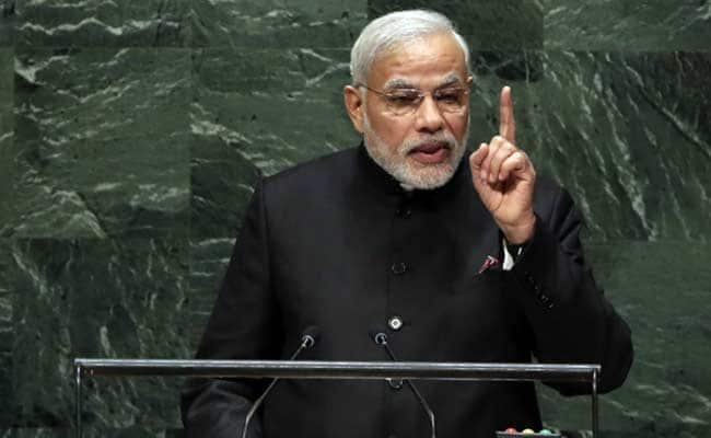 PM Modi To Address United Nations General Assembly Shortly