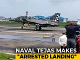 Video : 244 To 0 Kmph In 2 Seconds: How Tejas Jet Will Land On Aircraft Carrier