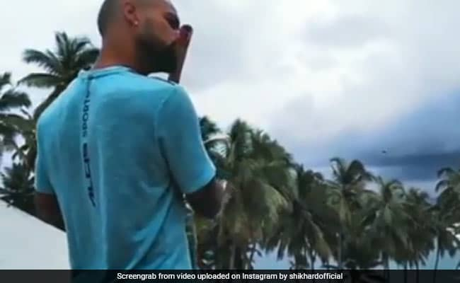 """Is That Really You"": Social Media In Disbelief Over Shikhar Dhawans Flute Video. Watch"