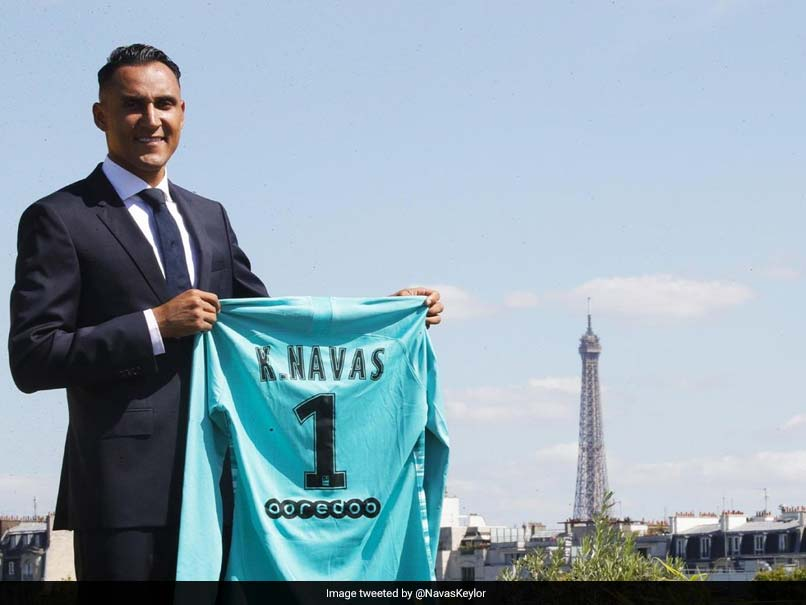 Keylor Navas Joins PSG From Real Madrid In