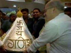 Devotee Offers 151 Kg <i>Modak</i> To Lord Ganesha In Pune