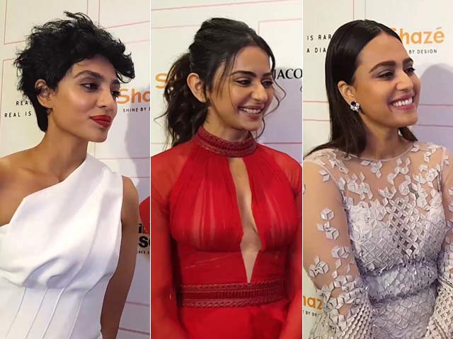 Video : VBA 2019: Sobhita Dhulipala, Rakul Preet Singh And Swara Bhasker Talk Fashion