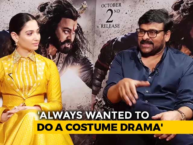 Video : Chiranjeevi On His First Experience Of Working In A Costume Drama