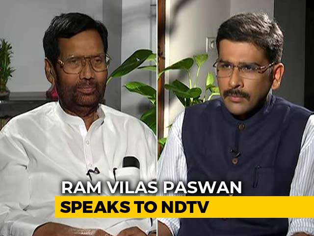 """Video : """"Single-Use Plastic To Be Banned In A Phased Manner"""": Ram Vilas Paswan"""