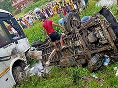 10 Killed, 8 Injured After Two Vehicles Collide In Assam's Sivasagar