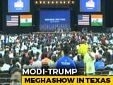 "Video : ""Howdy, Houston!"": PM Modi To Address Packed Texas Stadium"