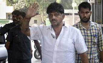 Congress's DK Shivakumar Walks Out of Tihar Jail Hours After Getting Bail
