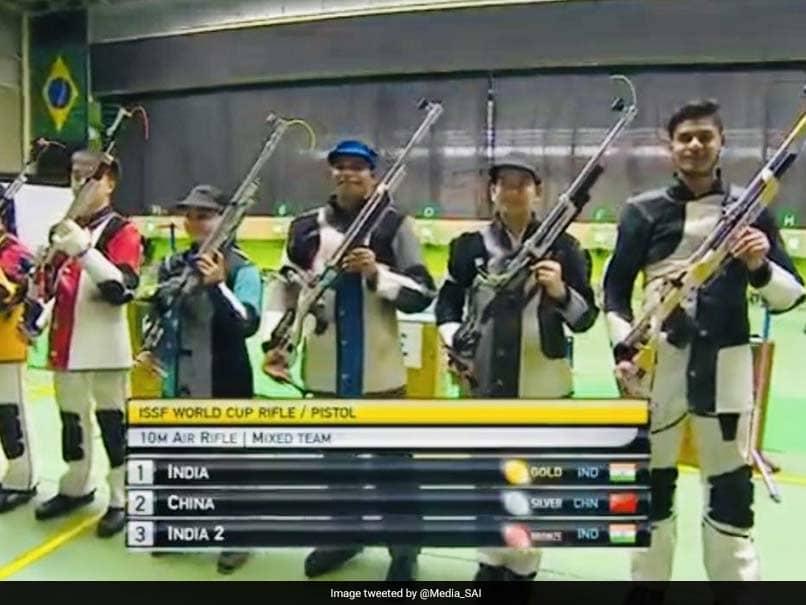 Apurvi Chandela, Deepak Kumar Hand India 4th Gold In Rio Shooting World Cup