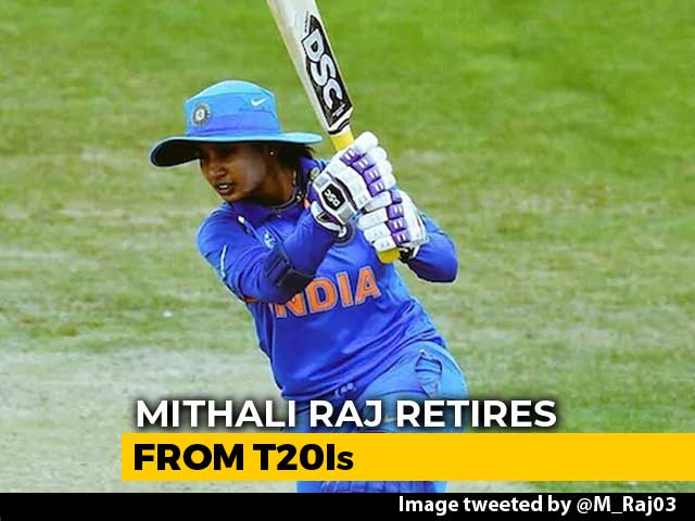 Mithali Raj Announces Retirement From T20 Internationals