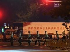 Beijing Under Lockdown For Overnight Army Parade Rehearsal