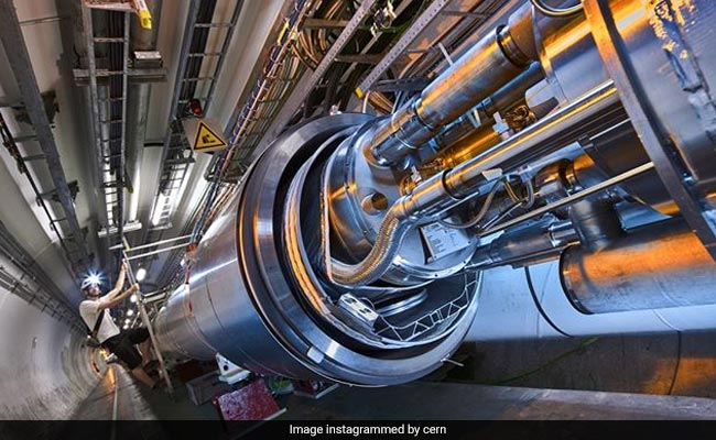 Instagram Shows CERN's Mammoth Particle Accelerator Is Very Photogenic