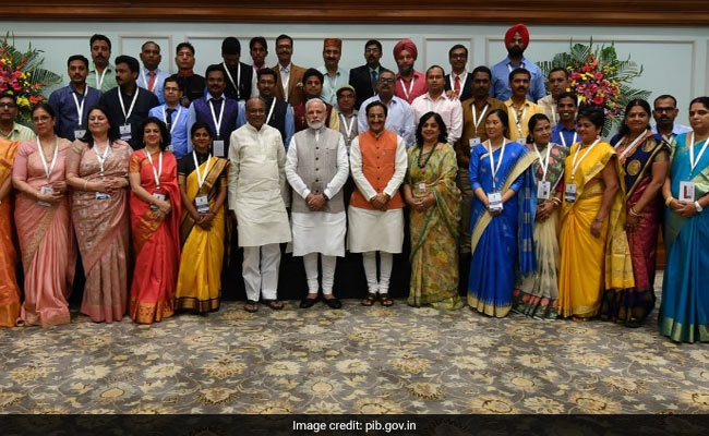 Prime Minister Interacts With Recipients Of National Teacher Awards' 2018