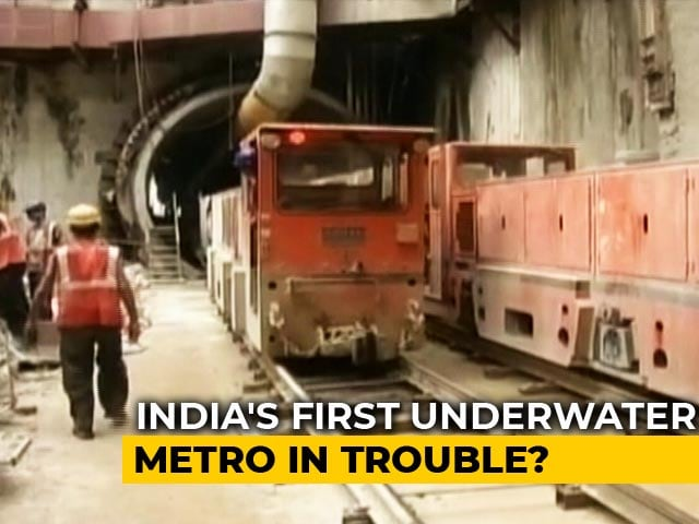 Video : Hundreds Homeless After Digging For Kolkata Metro Tunnel Hits Water Body