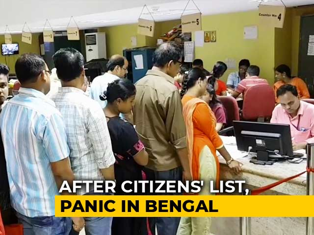 Video : Mad Scramble For Documents In Bengal As Fears Over Citizens List Mount