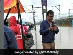 Engineer Stands In Flooded Mumbai Tracks For 16 Hours To Keep Trains Running