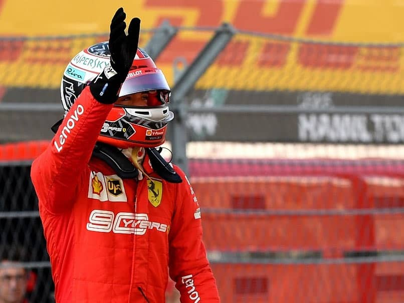 Russian GP: Ferraris Charles Leclerc Takes Fourth Pole In A Row