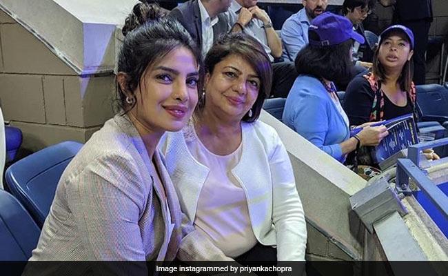 Priyanka Chopra Was At The US Open Watching 'Legend' Serena Williams Make History