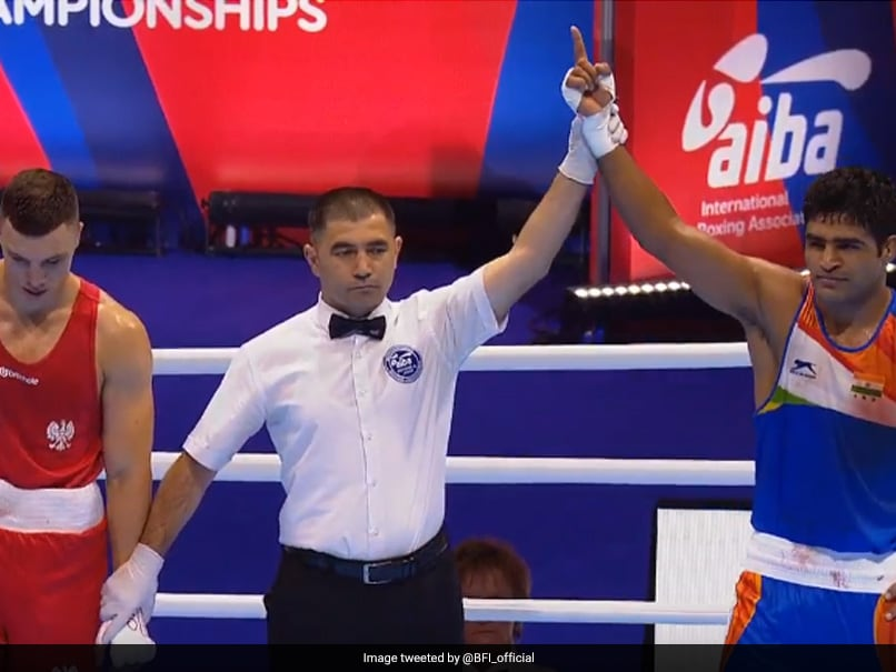 World Boxing Championships: Brijesh Yadav Beats Mateusz Goinski To Enter Round Of 32