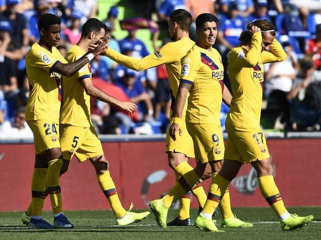 Barcelona Edge Past Getafe To Put Pressure On Real Madrid In La Liga
