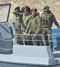 Northern Command Chief Visits Ladakh Days After India-China Standoff