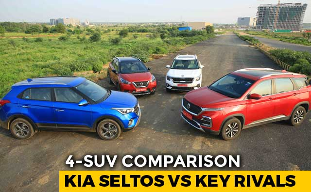 Video : Kia Seltos vs Hyundai Creta, MG Hector, Nissan Kicks