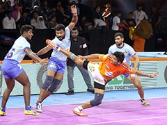 Pro Kabaddi: Puneri Paltan, Tamil Thalaivas Play Out Draw, Umumba Edge Past UP Yoddha