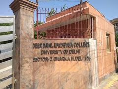 No Students' Union Polls In DU's Deen Dayal Upadhyaya College This Year