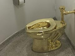 Gold Toilet, Once Offered On Loan To Trump, Stolen From British Palace