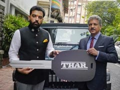 Anand Mahindra Hands Over Keys Of Thar 700 Limited Edition To Udaipur Prince