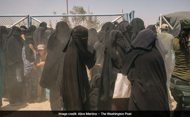 At A Sprawling Tent Camp In Syria, ISIS Women Impose A Brutal Rule