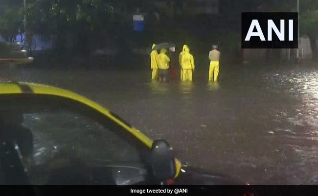 Parts Of Mumbai Water-Logged After Hours Of Heavy Rain