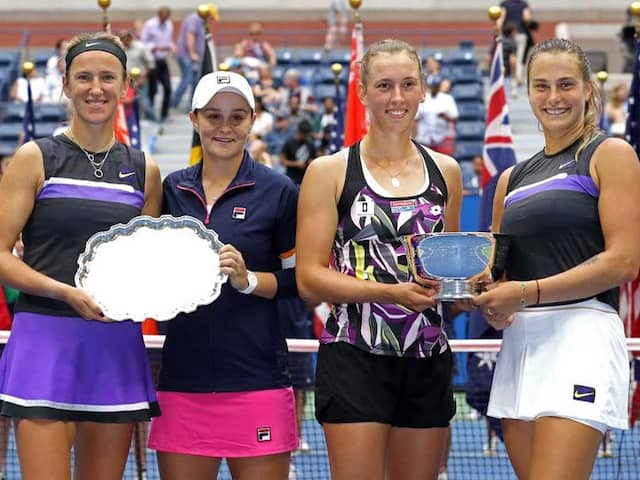 Elise Mertens And Aryna Sabalenka Take US Open Womens Doubles Crown