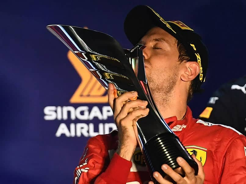 Sebastian Vettel Wins Singapore GP As Ferrari Dominate The Podium