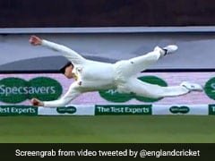 """Freak"" Steve Smith Takes Incredible One-Handed Catch To Dismiss Chris Woakes. Watch Video"