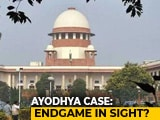 Video : Ayodhya Case: Endgame In Sight?
