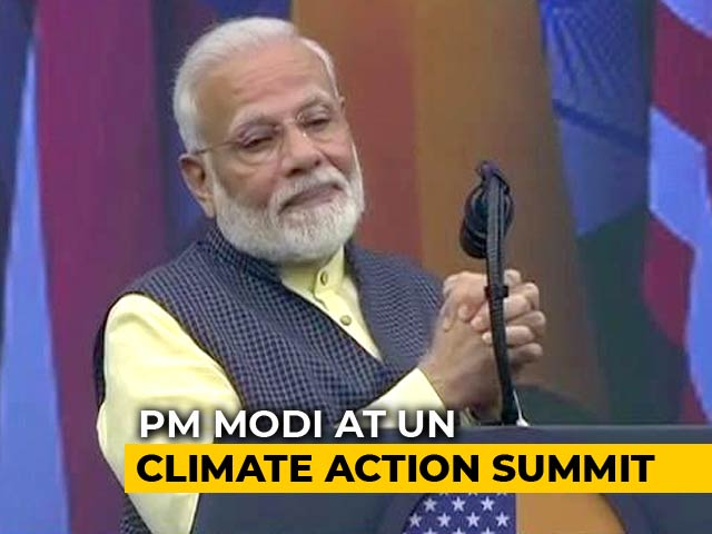 Video : PM Among First Set Of Speakers At UN Climate Summit