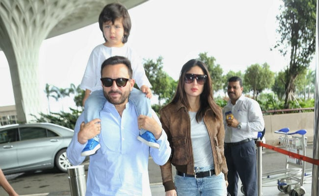 Kareena Kapoor Khan rings in birthday with Saif, Taimur
