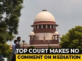 Video : In Ayodhya Case, Lawyers Of Infant Ram Reject Mediation On Day 34