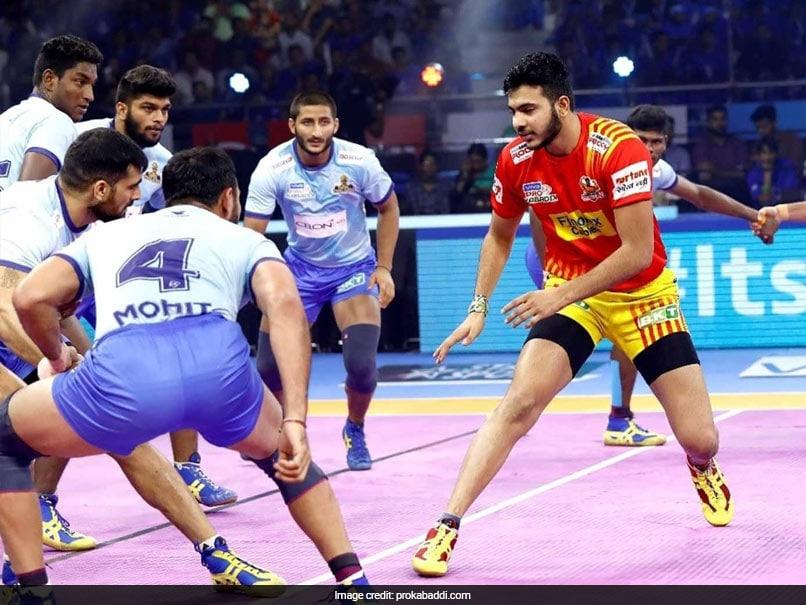 Pro Kabaddi: Gujarat Fortunegiants Thrash Tamil Thalaivas, UP Yoddha Edge Past Haryana Steelers