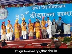 President Ram Nath Kovind Urges Youths To Refrain From E-Cigarettes At Ranchi University Convocation