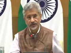 "India-US Relationship In ""Very Good Health"": Foreign Minister S Jaishankar"