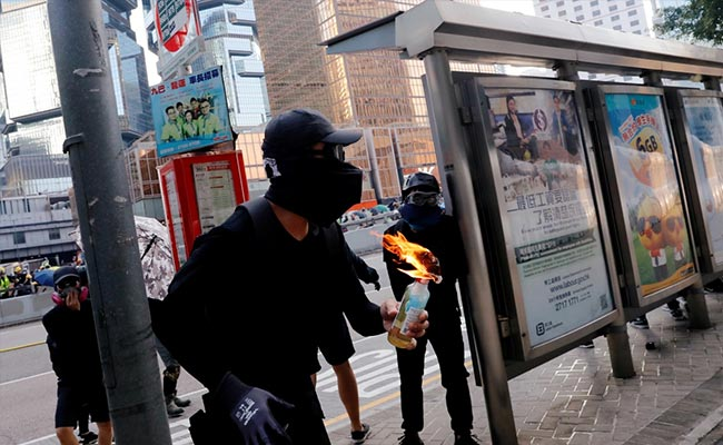 Hong Kong Reopens After Weekend Of Clashes, Anti-Government Protests